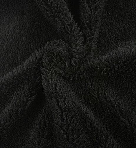 de Interior Polar Superora de Hombre gris Deportivo Beanie Invierno con Forro Punto de Gorro wzfqXzp7