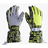 Ski Gloves Winter Outdoord Snow Sports Gloves Warm Waterproof Anti Cold Anti Slip Snowboard Cycling Climbing Hiking Gloves for Women