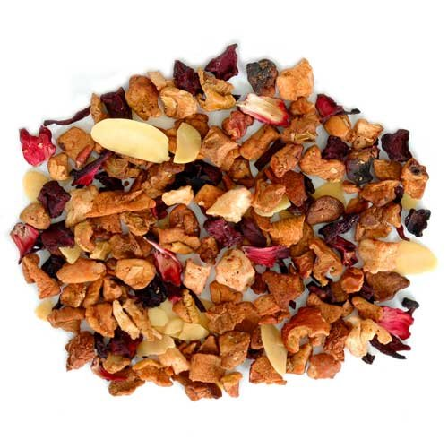 Candied Nut Crunch Tea Loose Leaf Flavored Tea with Cinnamon Pieces and Crushed Almonds - 5 Pounds by Buffalo Buck's Coffee