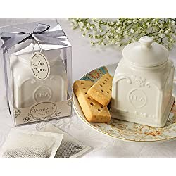 "Artisano Designs ""Victorian Tea Porcelain Tea Caddy"