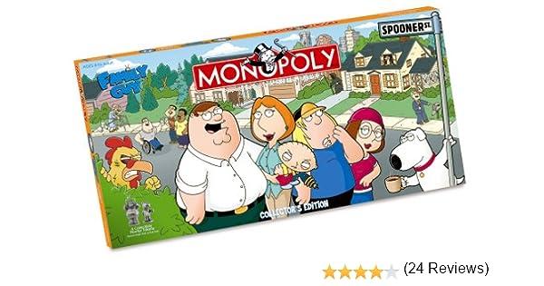 USAopoly Family Guy Collectors Edition Monopoly by: Amazon.es: Juguetes y juegos