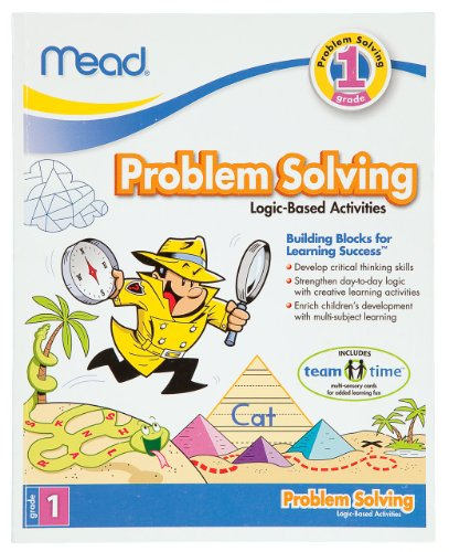 Mead 1st Grade Problem Solving Workbook, 10 x 8-Inches, 96 Pages (48028)