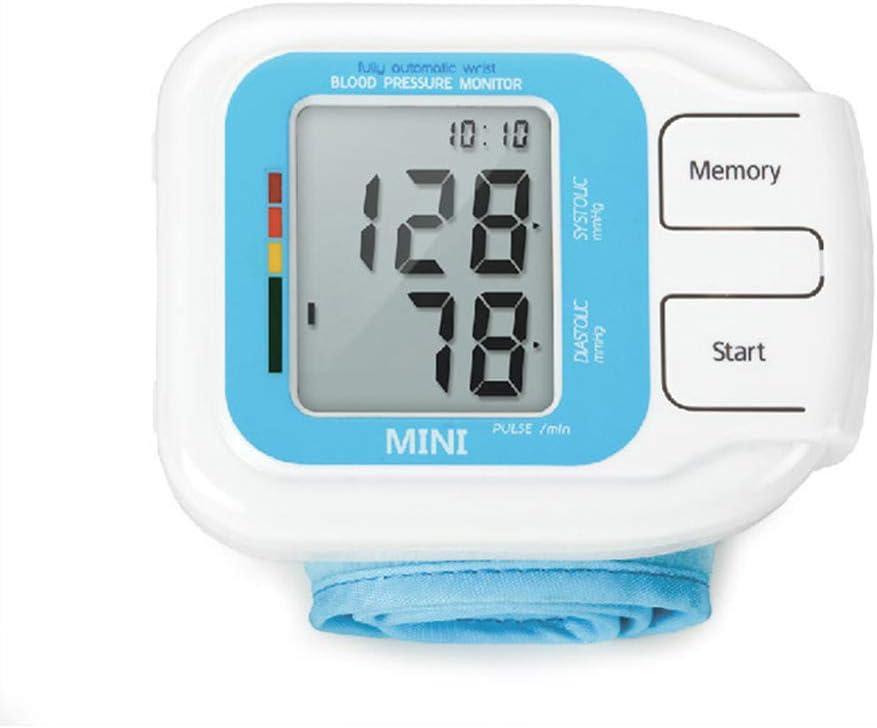 GUOJIN Esfigmomanómetro Portátil Totalmente Automático Tipo De Banda para Brazo Digital Medidor De Presión Arterial Electrónico Mini Tamaño Ligero Portátil