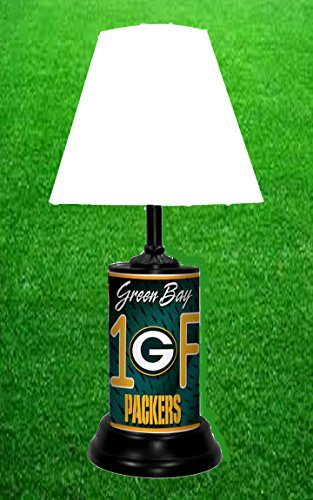 GREEN BAY PACKERS TABLE LAMP -