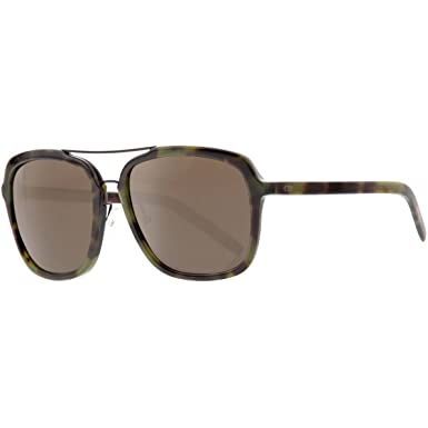0371c2247d2 Amazon.com  Dior Homme Men s Blacktie121s Green Tortoise Pattern ...