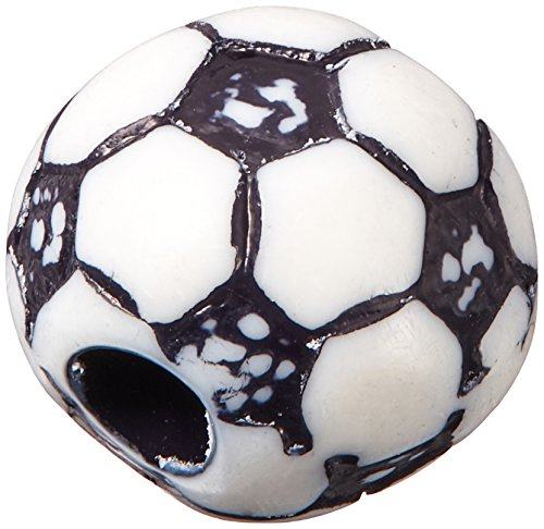 Sports Ball Beads 12mm-Soccer Ball 12/Pkg
