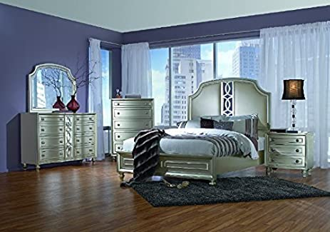 Amazing Upholstered Bedroom Set Creative