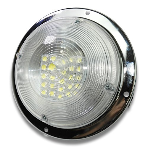RV Accessories Boat Ceiling Light 12 Volt LED Puck For