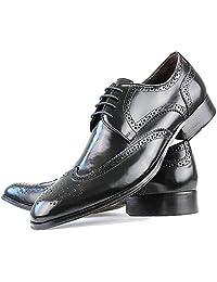 Sapato Social Neway em Couro Masculino Preto