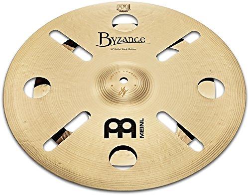 Meinl Cymbals AC Luke Holland Artist Concept Model Byzance/Classics Custom Bullet Stack, inch (