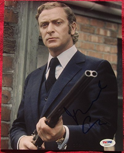 Michael Caine signed 8x10 photo PSA/DNA autographed Get Carter