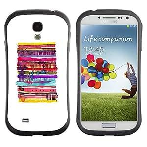 Suave TPU GEL Carcasa Funda Silicona Blando Estuche Caso de protección (para) Samsung Galaxy S4 I9500 / CECELL Phone case / / Pancake White Minimalist Food /