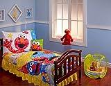 Sesame Street Scribbles 10-piece Toddler Bedding Set