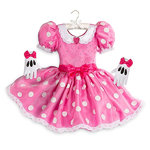 Minnie Mouse Costume Pink (Disney Minnie Mouse Costume for Kids - Pink Size 2)