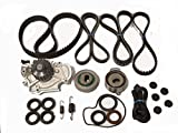 TBK Timing Belt Kit Replacement For Honda Accord 1998 to 2002 Dx Lx Ex VP 4cyl Aisin Water Pump Koyo Bearings, Bando Drive Belts Springs and Seals