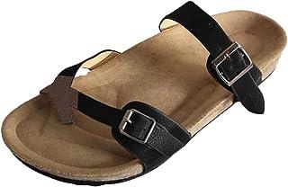 Scarpe Casual da Donna con Cinturino alla Caviglia E Fibbia Piatta
