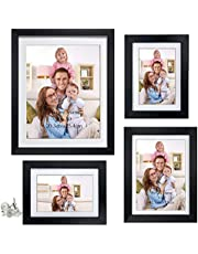 Giftgarden 4 Pack Picture Frames with Mat