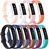 Vancle Compatible with for Fitbit Alta Bands for Women Men, Sport Bands Replacement