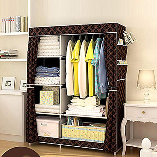 qiumeixia1 Stainless Steel/Non-Woven/PP Rectangle Geometric Pattern Home Organization, 1pc Hangers/Storage Cabinets@Gold