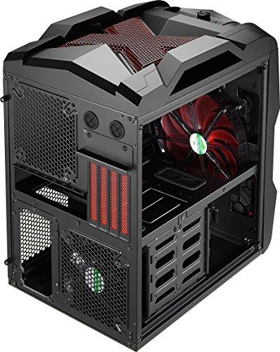 aerocool xpredator cube microatx mid tower case strikex cube red pcpartpicker aerocool xpredator cube microatx mid