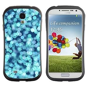 LASTONE PHONE CASE / Suave Silicona Caso Carcasa de Caucho Funda para Samsung Galaxy S4 I9500 / Sea Focus Shiny Sparkly Sparkle