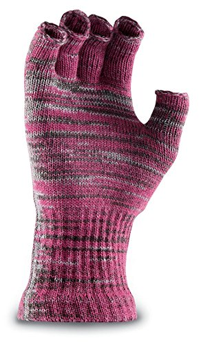 Fox River New American Merino Ragg Wool Fingerless Gloves, Fuchsia, One (Standard Knit Glove)