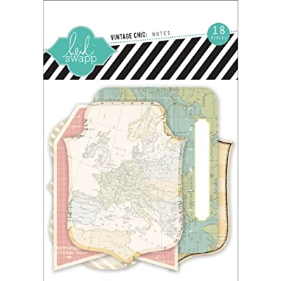 Vintage Chic Notes Journal Cards 18/Pkg-