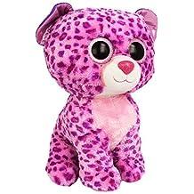 Ty Beanie Boos Buddies Glamour Pink Leopard Large Plush by Ty Beanie Boos Buddies