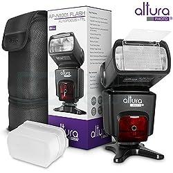 Altura Photo Professional Flash Kit For Nikon Dslr - Includes: I-ttl Flash (Ap-n1001), Wireless Flash Trigger Set & Accessories 3