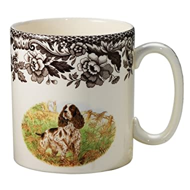 Spode Woodland Hunting Dogs English Springer Spaniel Mug