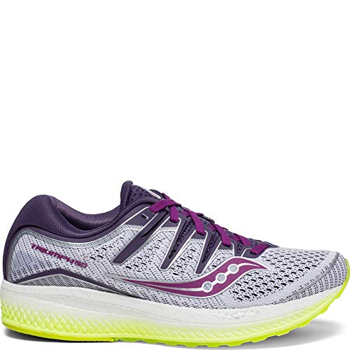 Saucony Triumph ISO 5 Women 8 White | Purple | Citron