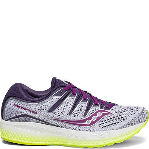 Saucony Triumph ISO 5 Women 11.5 White | Purple | Citron