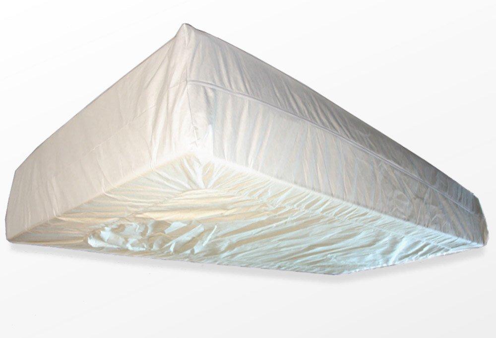 rundum 80 x 200 cm Encasing Milbenkotdicht H/öhenverstellbar 14-20 cm Milbenschutz f/ür Hausstauballergiker TAURO 28855 FLEX Matratzenbezug