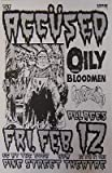 Accused Oily Bloodmen Rare 88 Punk Flyer Concert