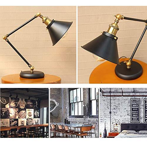 Amazon.com: Belief - Lámpara de mesa de trabajo con brazo ...