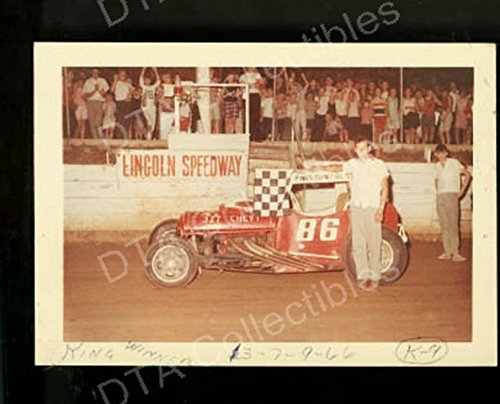 Coupe Stock - IRVING KING #86 MODIFIED COUPE STOCK CAR LINCOLN 1966