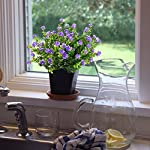 GTIDEA-4pcs-Fake-Plants-Artificial-Greenery-Shrubs-Eucalyptus-Branches-with-Purple-Babys-Breath-Flower-Plastic-Bushes-House-Office-Garden-Patio-Yard-Indoor-Outdoor-Decor