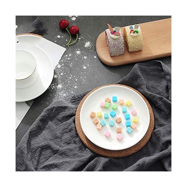 Fablcrew. 160 vaschetta per Ghiaccio Quadrata in Silicone Size 23.5 * 11.9 * 1.2cm 4 spesavip