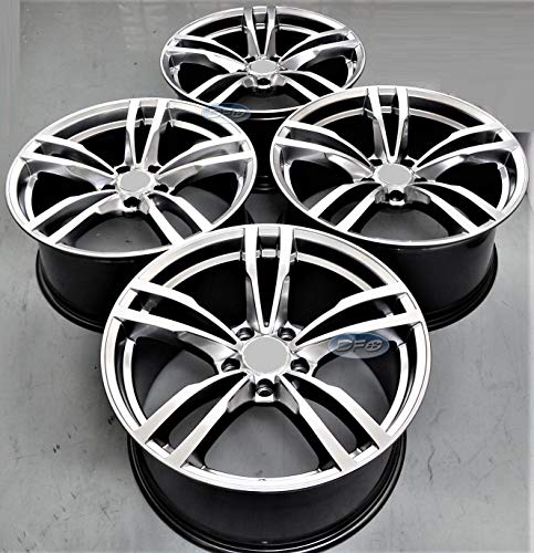 gered Wheels Rims (Full Set of 4) fit for BMW 1 2 3 4 5 6 Series X1 X3 X4 Z4 5468 HS ()