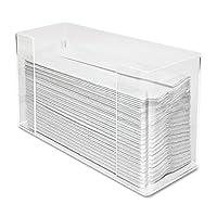 Dispensador de toallas de papel Kantek, acrílico transparente, 11.5 x 6.75 x 4.2 pulgadas (AH190)