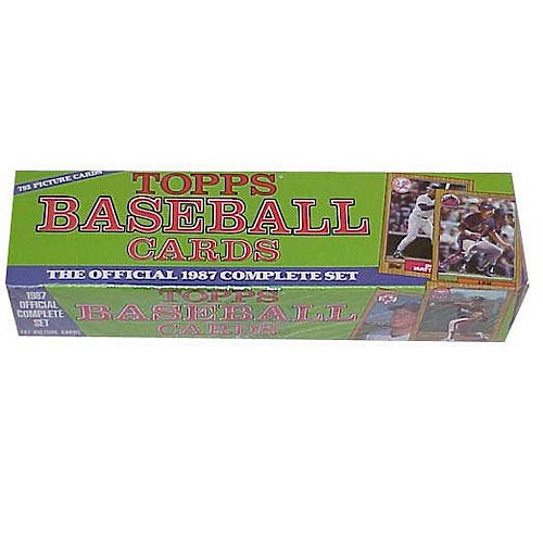 1987 Topps Baseball Factory Sealed Complete Mint 792 Card Set Which Includes ... (Topps Baseball Set)