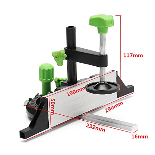 Miter GaugeThyway Miter Gauge And Box Joint Jig Kit With Adjustable Flip Stop Woodworking Tool