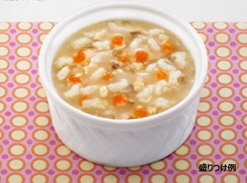 X12 pieces from Kewpie Happy recipe chicken and mushroom porridge 7 months around May of