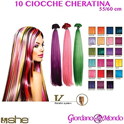 Costo extension capelli colorate