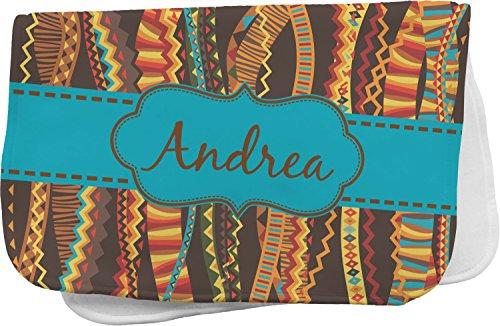 Stripes Ribbon Burp Cloths (Tribal Ribbons Burp Cloth (Personalized))