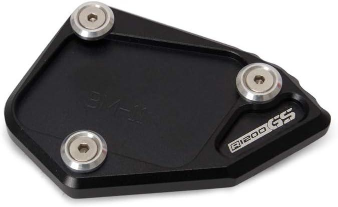 Fesjoy Kickstand Plate Pad Motorrad Zubeh/ör Fu/ß Seitenst/änder Erweiterung CNC Aluminium f/ür BMW R1200 GS 2007-2012 R1200 ADV 2008-2012 St/änderplatte