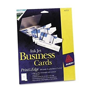 Amazon print to the edge 2 sided business cards inkjet 2 x 3 print to the edge 2 sided business cards inkjet 2 reheart Choice Image