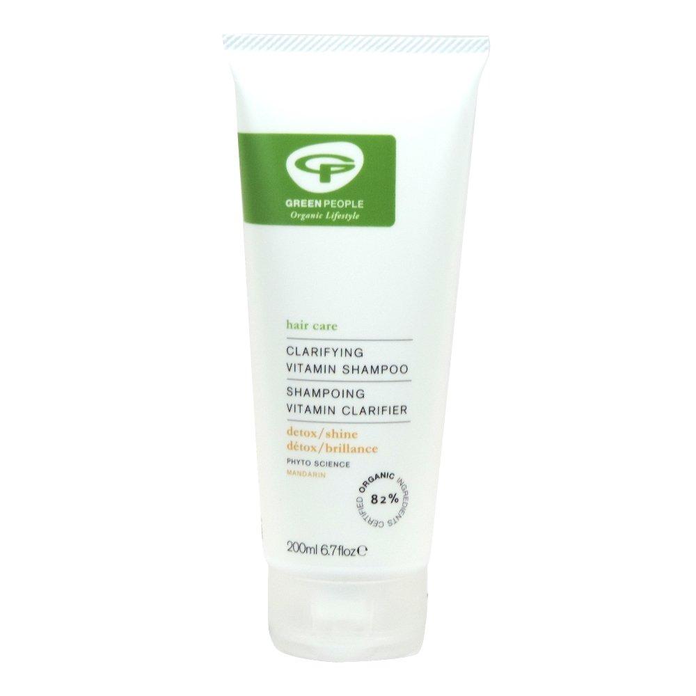 Green People - Hair Care - Clarifying Vitamin Shampoo - Mandarin - 200ml (Case of 6)