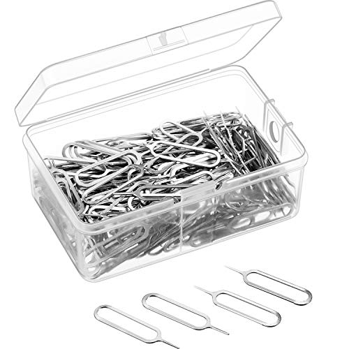 Tatuo 200 Pack Sim Card Tray Eject Pin Ejector Removal for sale  Delivered anywhere in USA
