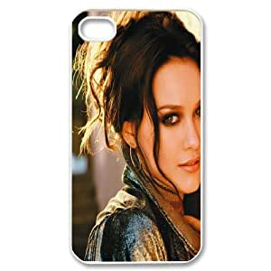Printed Phone Case Hilary Duff For iPhone 4,4S NC1Q03350